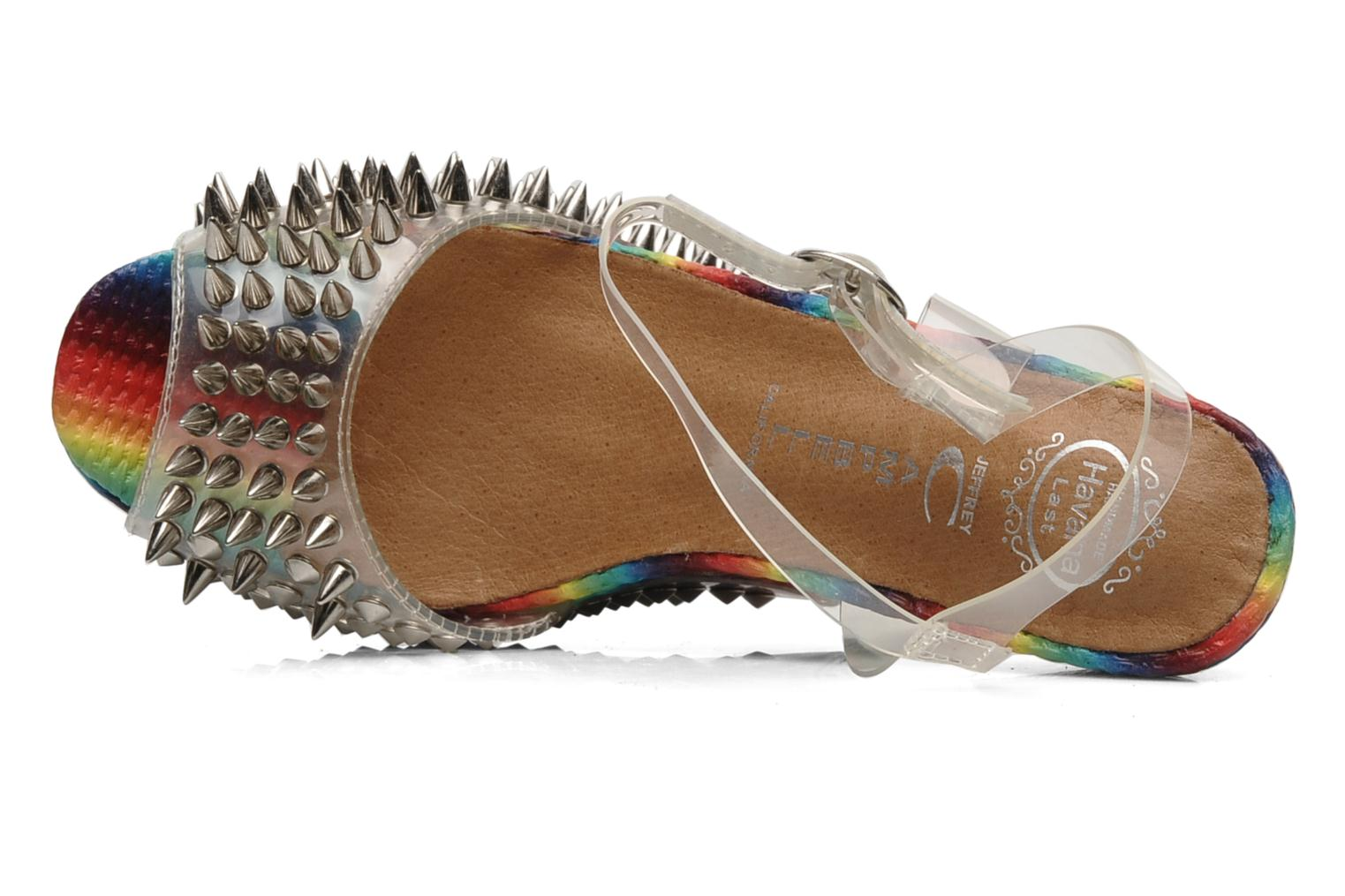 Sandalias Jeffrey Campbell Vicious Multicolor vista lateral izquierda