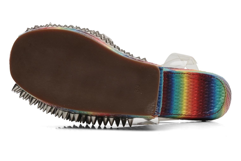 Sandales et nu-pieds Jeffrey Campbell Vicious Multicolore vue haut