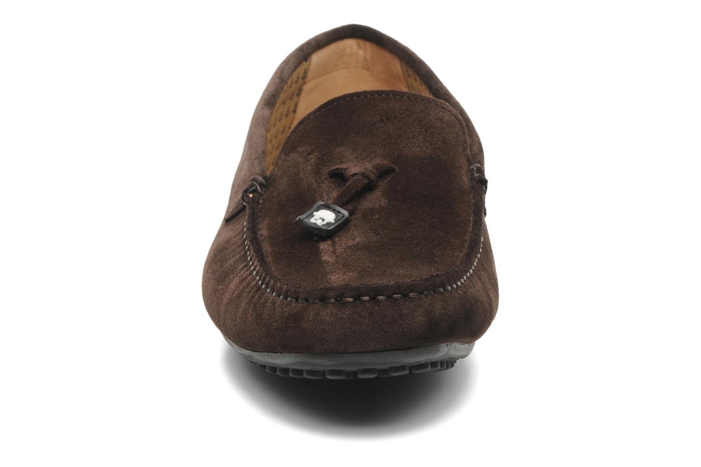 Mocassins Paul & Joe Clinton Marron vue portées chaussures