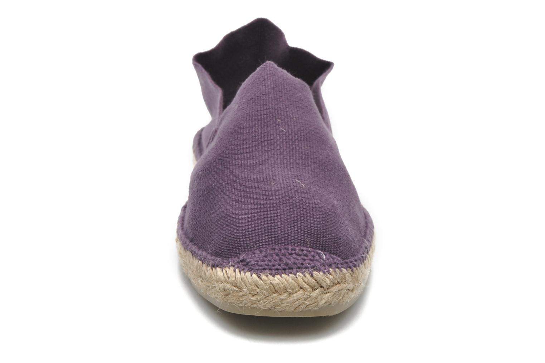 Espadrilles Pare Gabia VP espadrille Violet vue portées chaussures