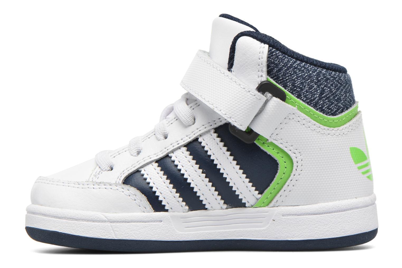 Baskets Adidas Originals Varial Mid I Blanc vue face
