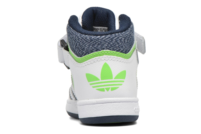 Baskets Adidas Originals Varial Mid I Blanc vue droite