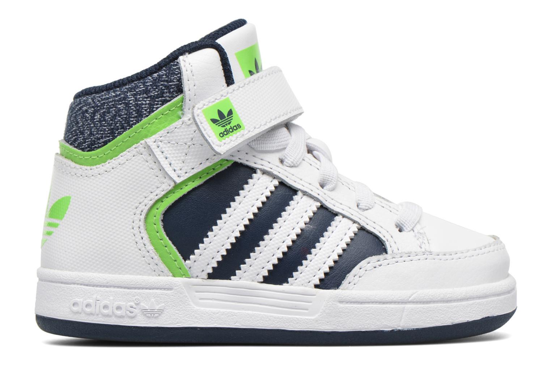 Sneaker Adidas Originals Varial Mid I weiß ansicht von hinten