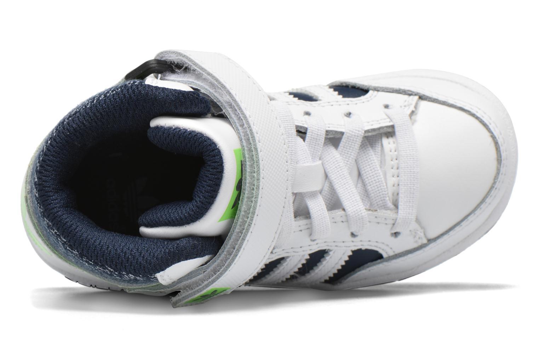 Sneaker Adidas Originals Varial Mid I weiß ansicht von links