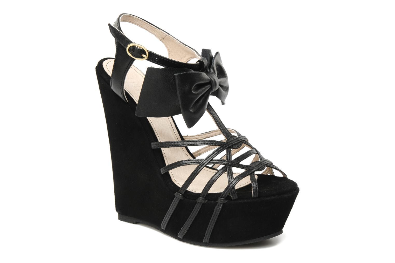 Sandaler Supertrash Bowstrap Sort detaljeret billede af skoene