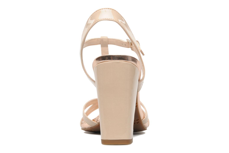Sandales et nu-pieds Naturalizer EBBA Beige vue droite