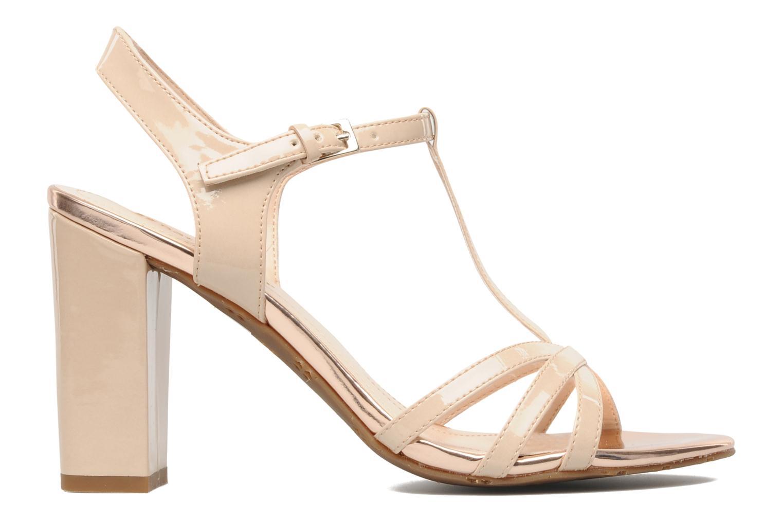Sandales et nu-pieds Naturalizer EBBA Beige vue derrière