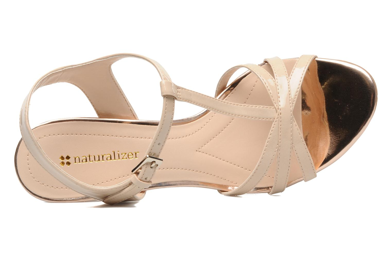 Sandales et nu-pieds Naturalizer EBBA Beige vue gauche