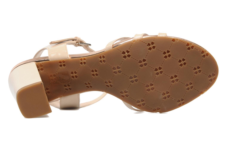 Sandales et nu-pieds Naturalizer EBBA Beige vue haut