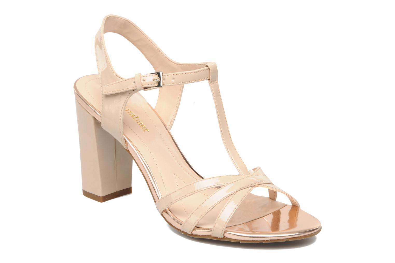 Sandales et nu-pieds Naturalizer EBBA Beige vue détail/paire