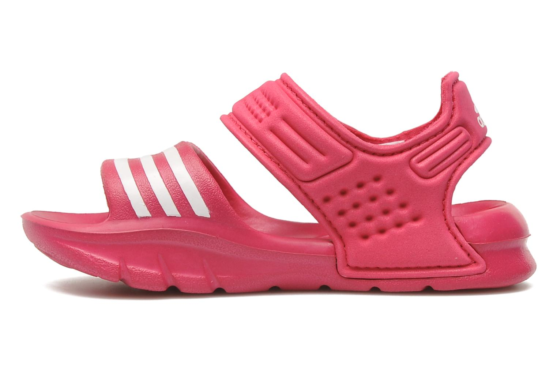 Sandales et nu-pieds Adidas Performance Akwah 8 I Rose vue face