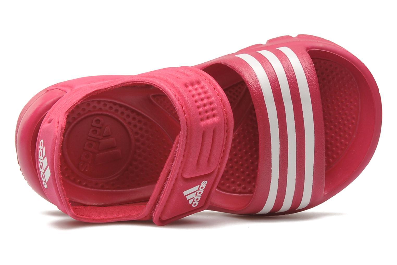 Sandales et nu-pieds Adidas Performance Akwah 8 I Rose vue gauche