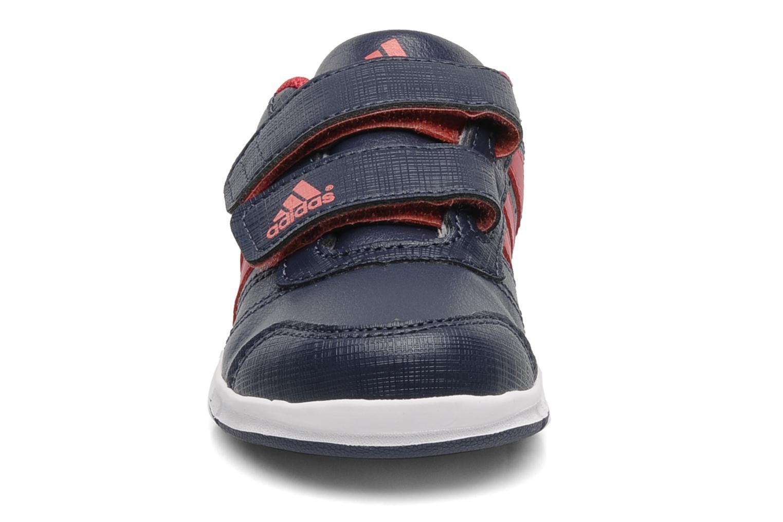 Sneaker Adidas Performance LK Trainer 5 CF I blau schuhe getragen