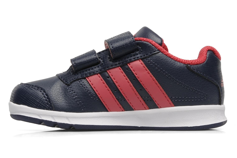 Sneaker Adidas Performance LK Trainer 5 CF I blau ansicht von vorne