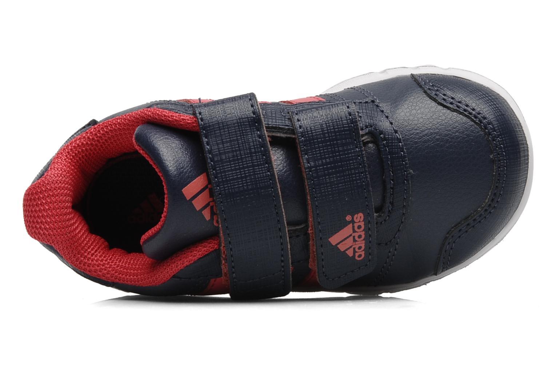 Sneaker Adidas Performance LK Trainer 5 CF I blau ansicht von links