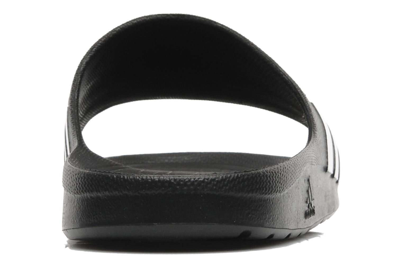 Sportschuhe Adidas Performance Duramo Slide schwarz ansicht von rechts