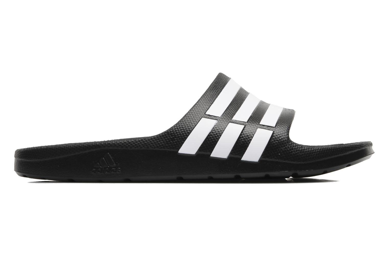 Sportschuhe Adidas Performance Duramo Slide schwarz ansicht von hinten