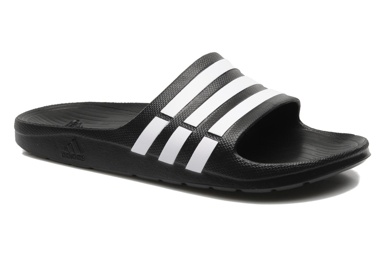 Sportschuhe Adidas Performance Duramo Slide schwarz detaillierte ansicht/modell