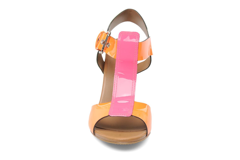 Sandales et nu-pieds Pastelle Bassa Multicolore vue portées chaussures