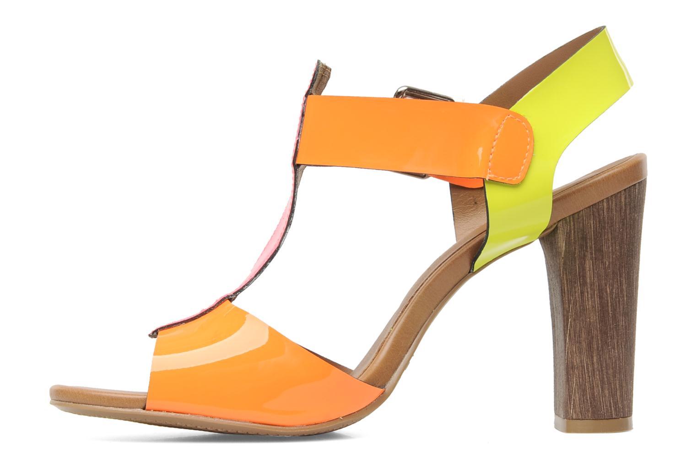 Sandales et nu-pieds Pastelle Bassa Multicolore vue face