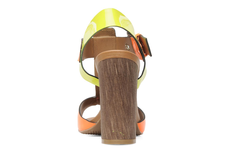 Sandales et nu-pieds Pastelle Bassa Multicolore vue droite