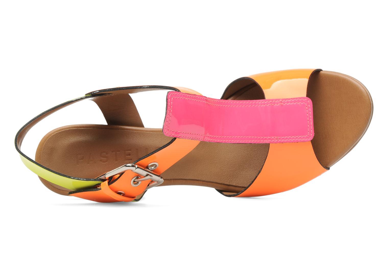 Sandales et nu-pieds Pastelle Bassa Multicolore vue gauche