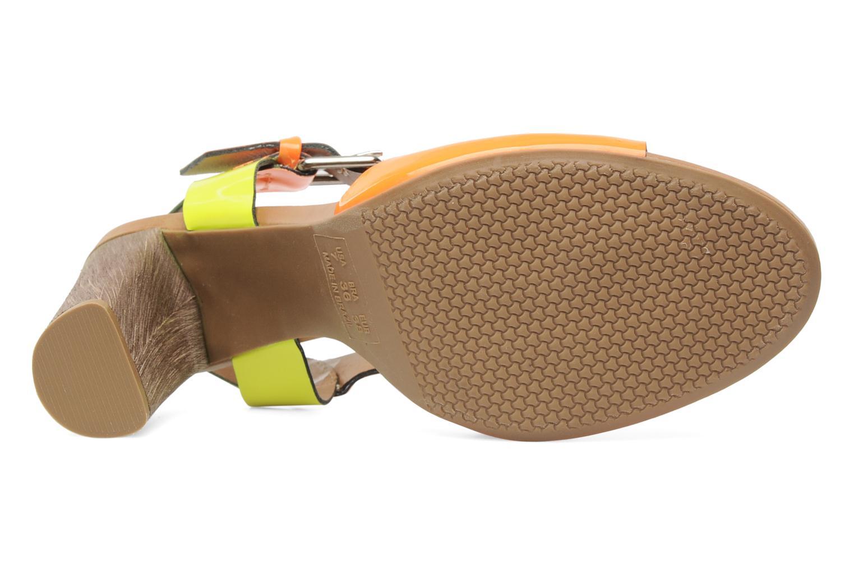 Sandales et nu-pieds Pastelle Bassa Multicolore vue haut