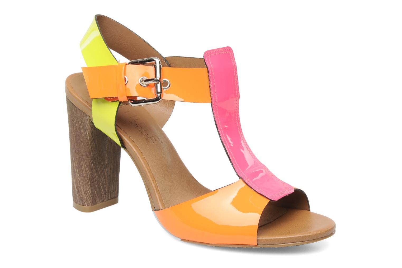 Sandales et nu-pieds Pastelle Bassa Multicolore vue détail/paire