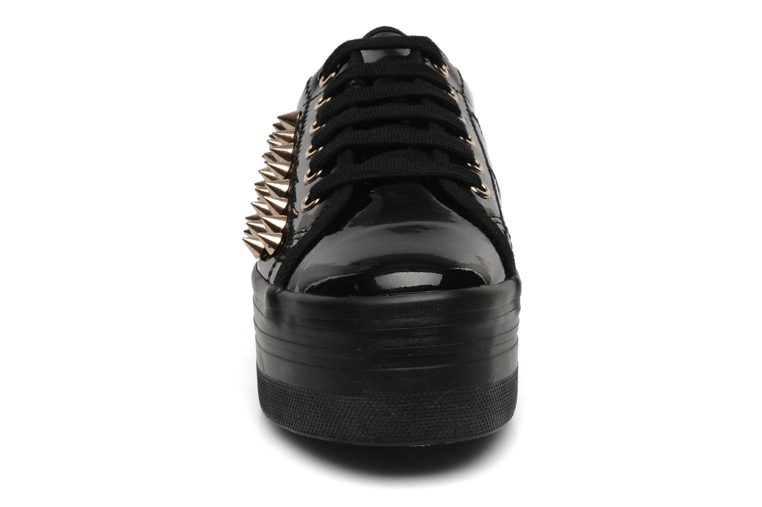 Trainers Jeffrey Campbell Kitty Black model view