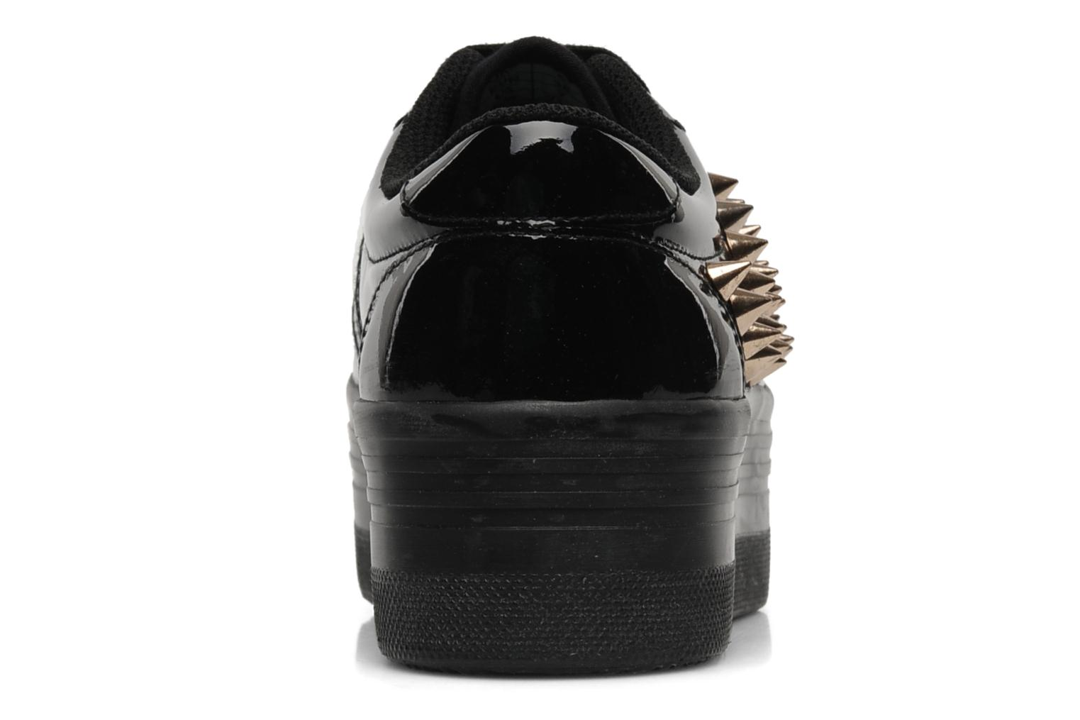 Trainers Jeffrey Campbell Kitty Black view from the right