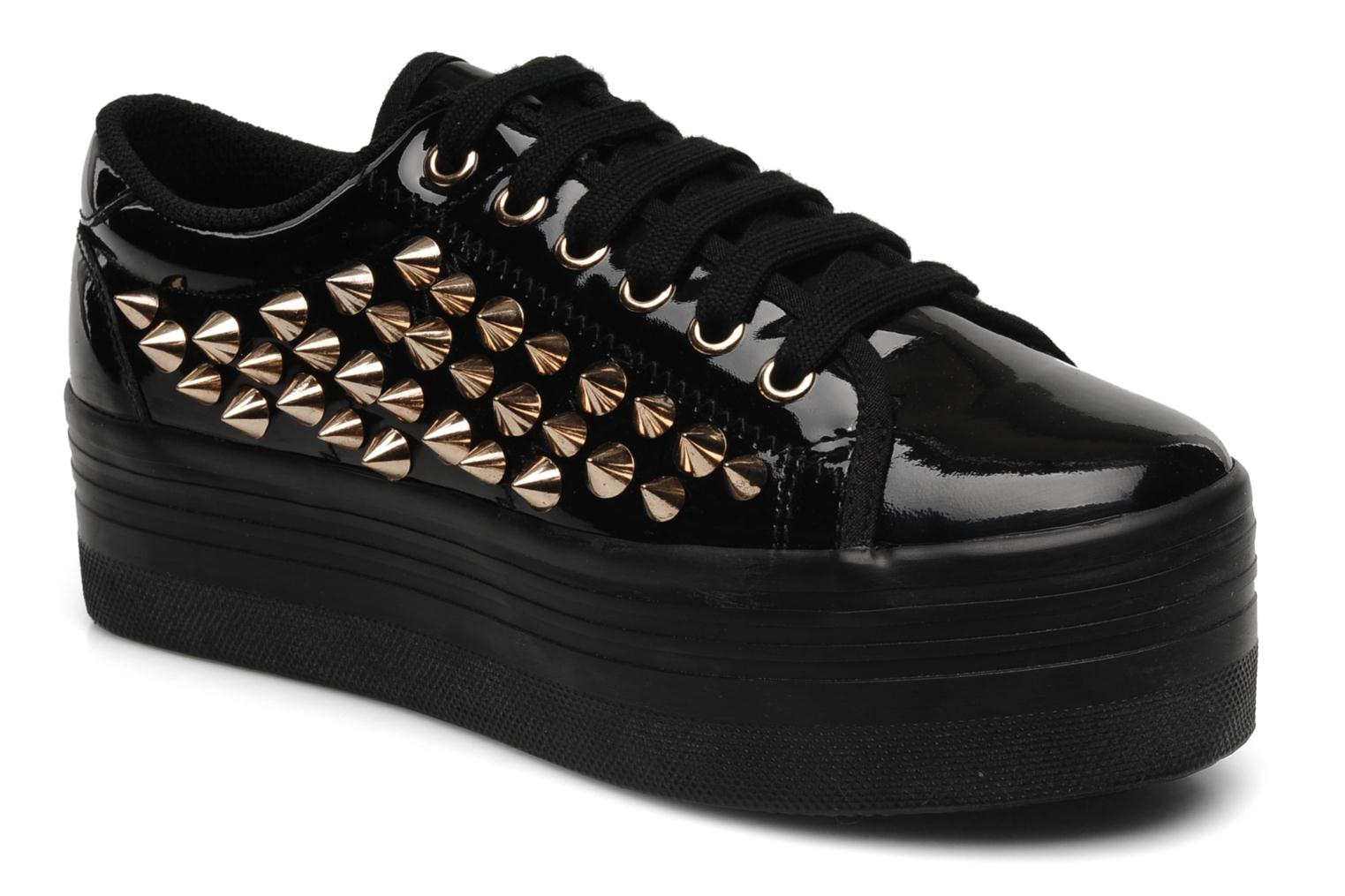 Trainers Jeffrey Campbell Kitty Black detailed view/ Pair view