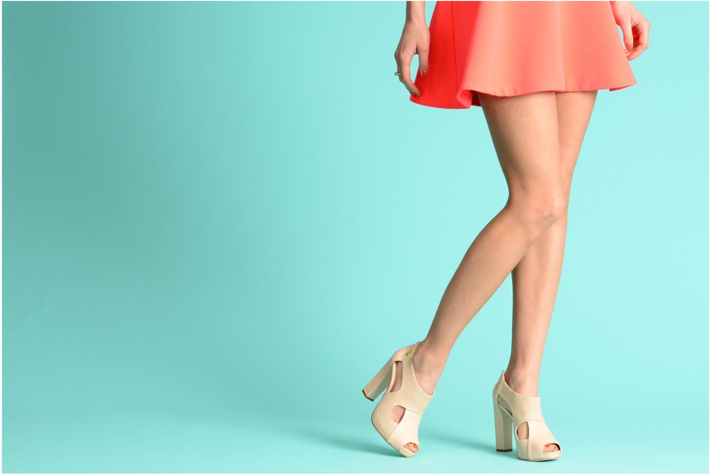 Sandales et nu-pieds Kat Maconie LUCY Beige vue bas / vue portée sac