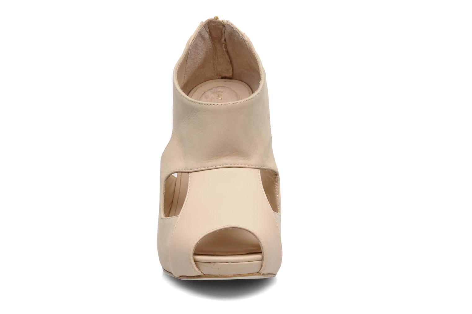 LUCY NUDE LEATHER NUDE NUBUCK
