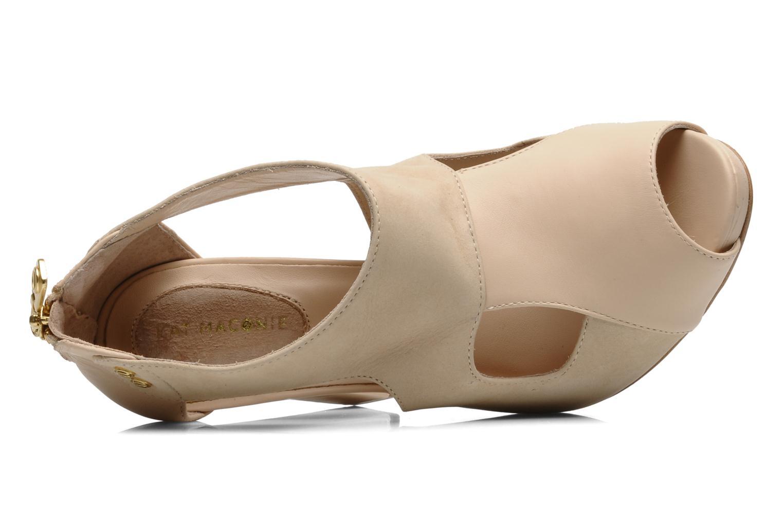 Sandales et nu-pieds Kat Maconie LUCY Beige vue gauche