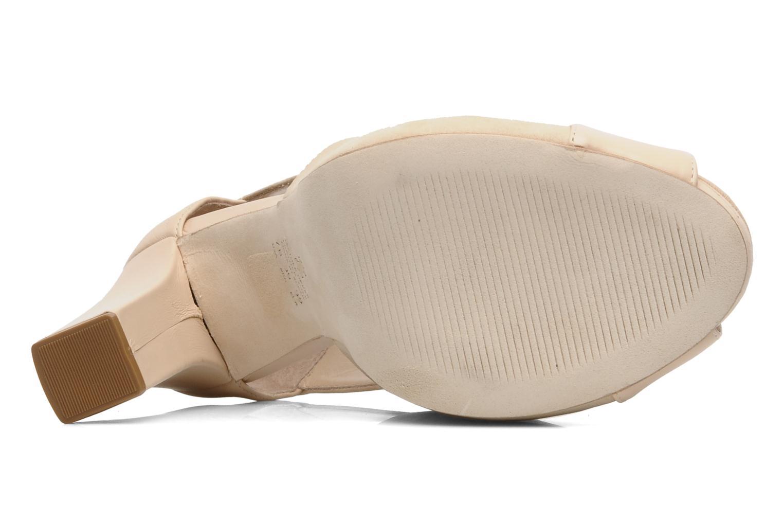 Sandales et nu-pieds Kat Maconie LUCY Beige vue haut
