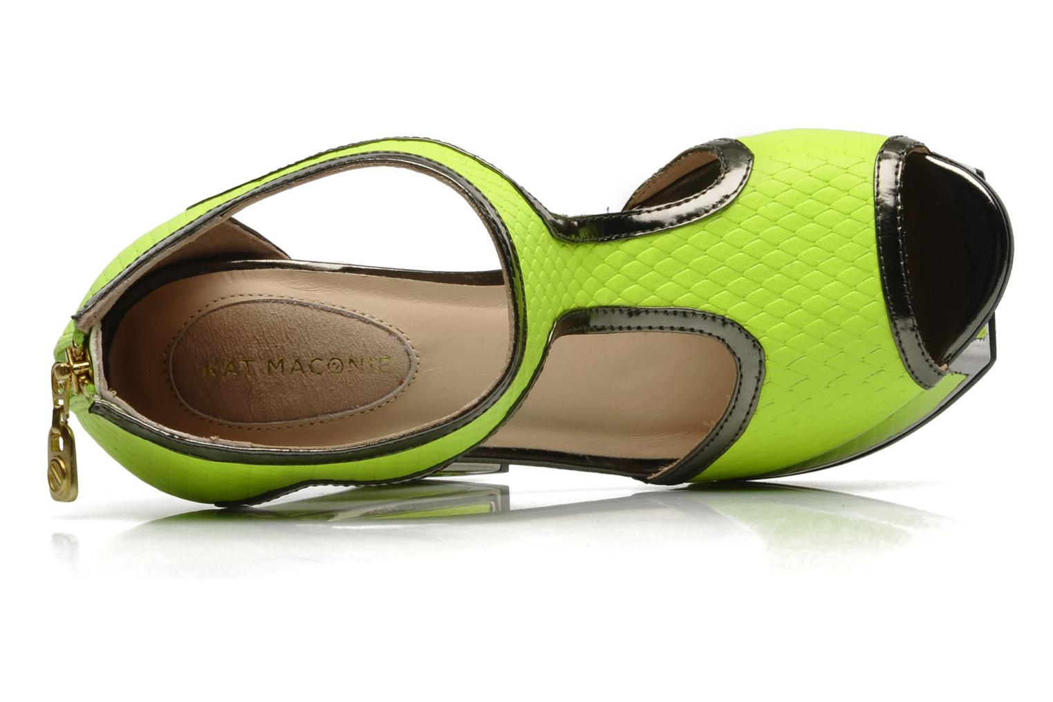 Sandals Kat Maconie ABIGAIL Yellow view from the left