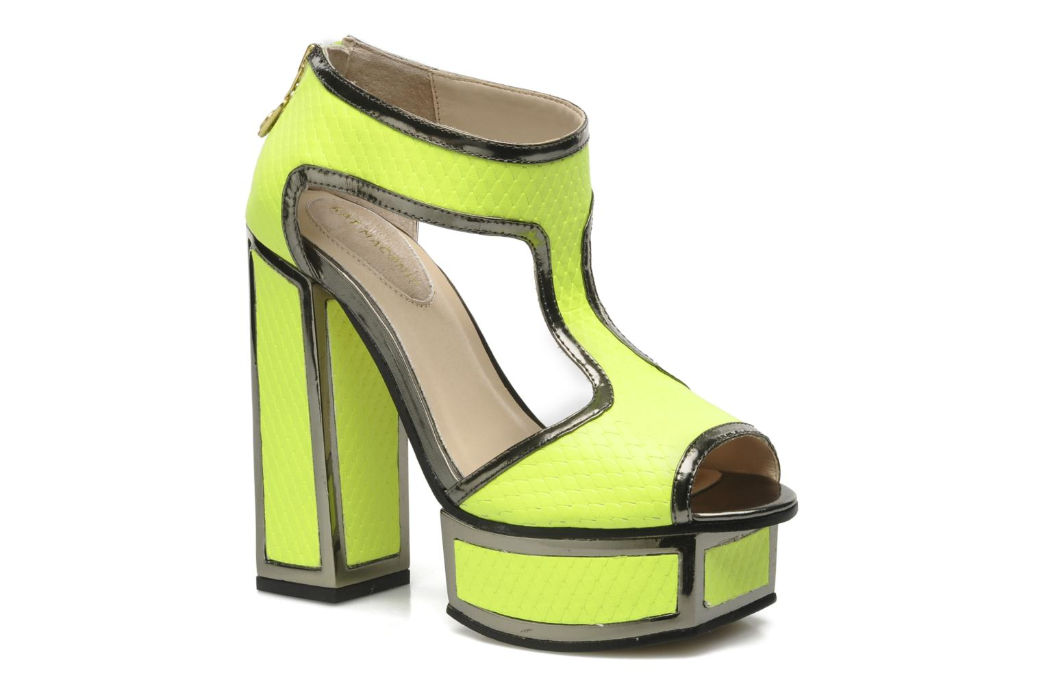 Sandals Kat Maconie ABIGAIL Yellow detailed view/ Pair view
