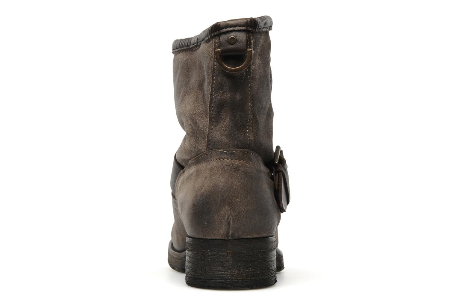 Ankle boots Koah Breeze Brown view from the right