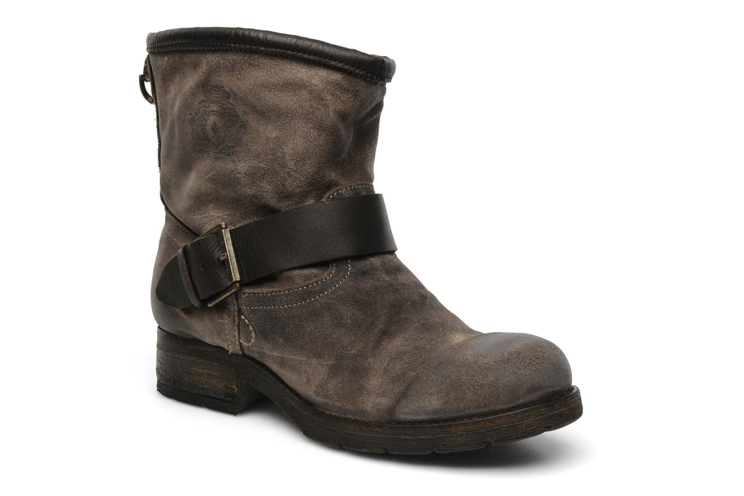 Ankle boots Koah Breeze Brown detailed view/ Pair view