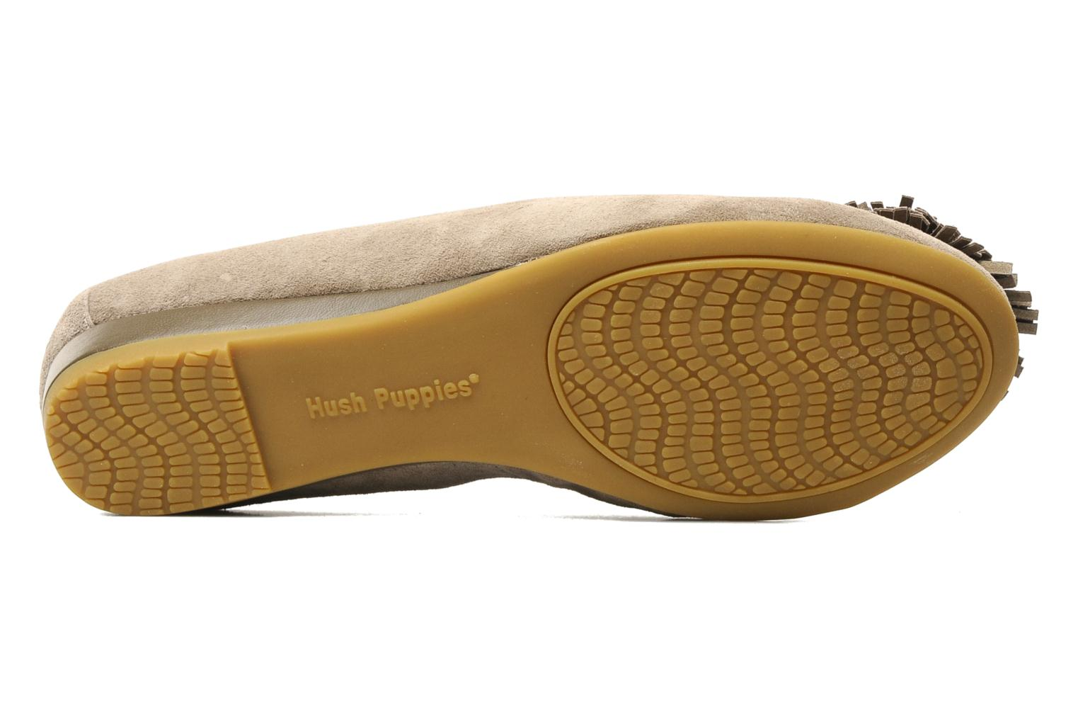 Ballet pumps Hush Puppies Swan skimmer pp Beige view from above