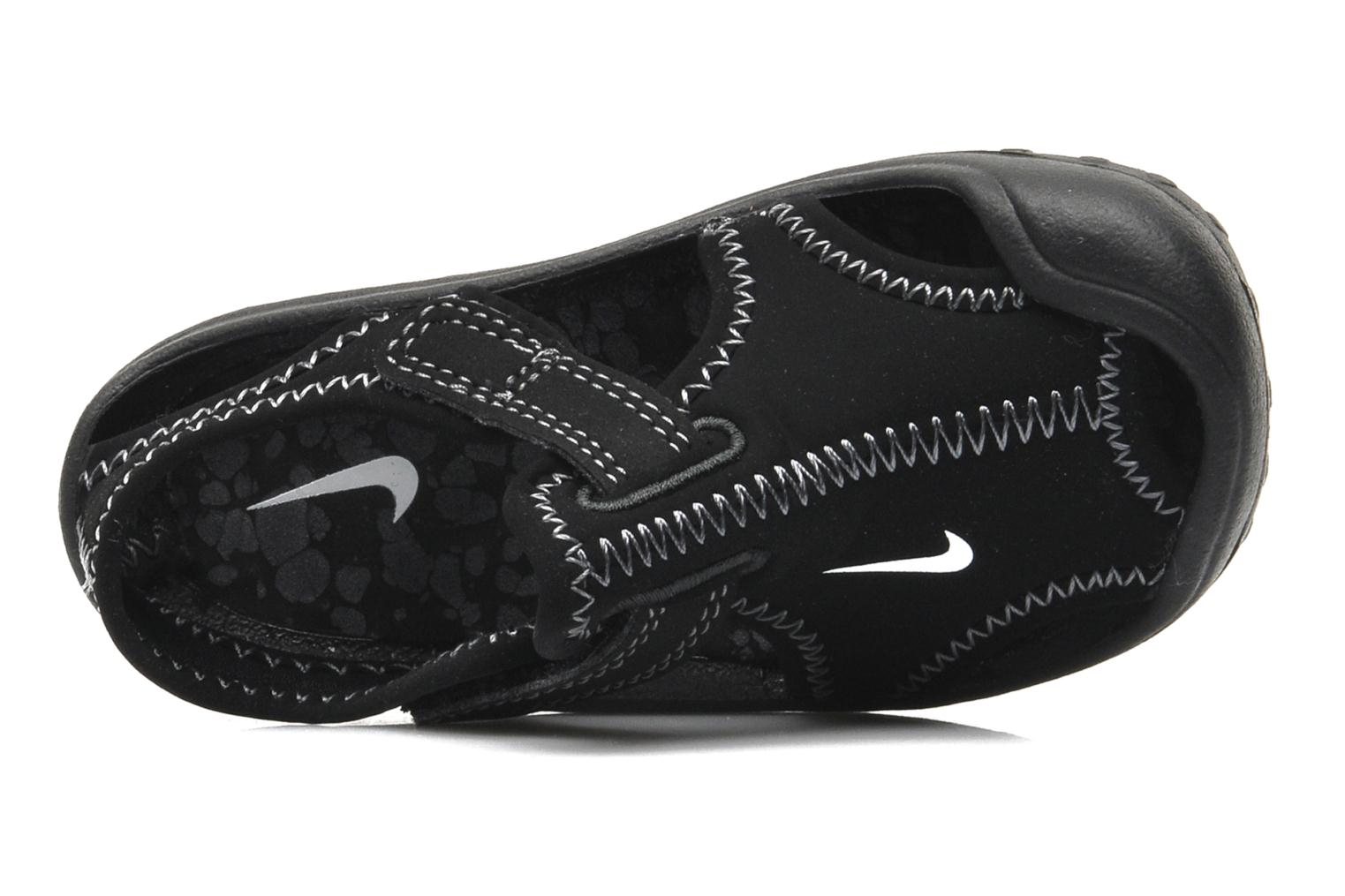 Sport shoes Nike SUNRAY PROTECT (TD) Black view from the left