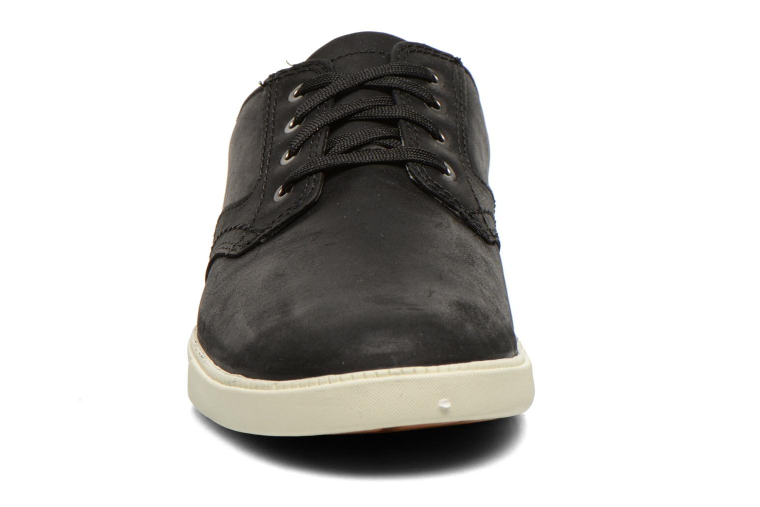 Chaussures à lacets Timberland Earthkeepers Newmarket LP Ox Noir vue portées chaussures