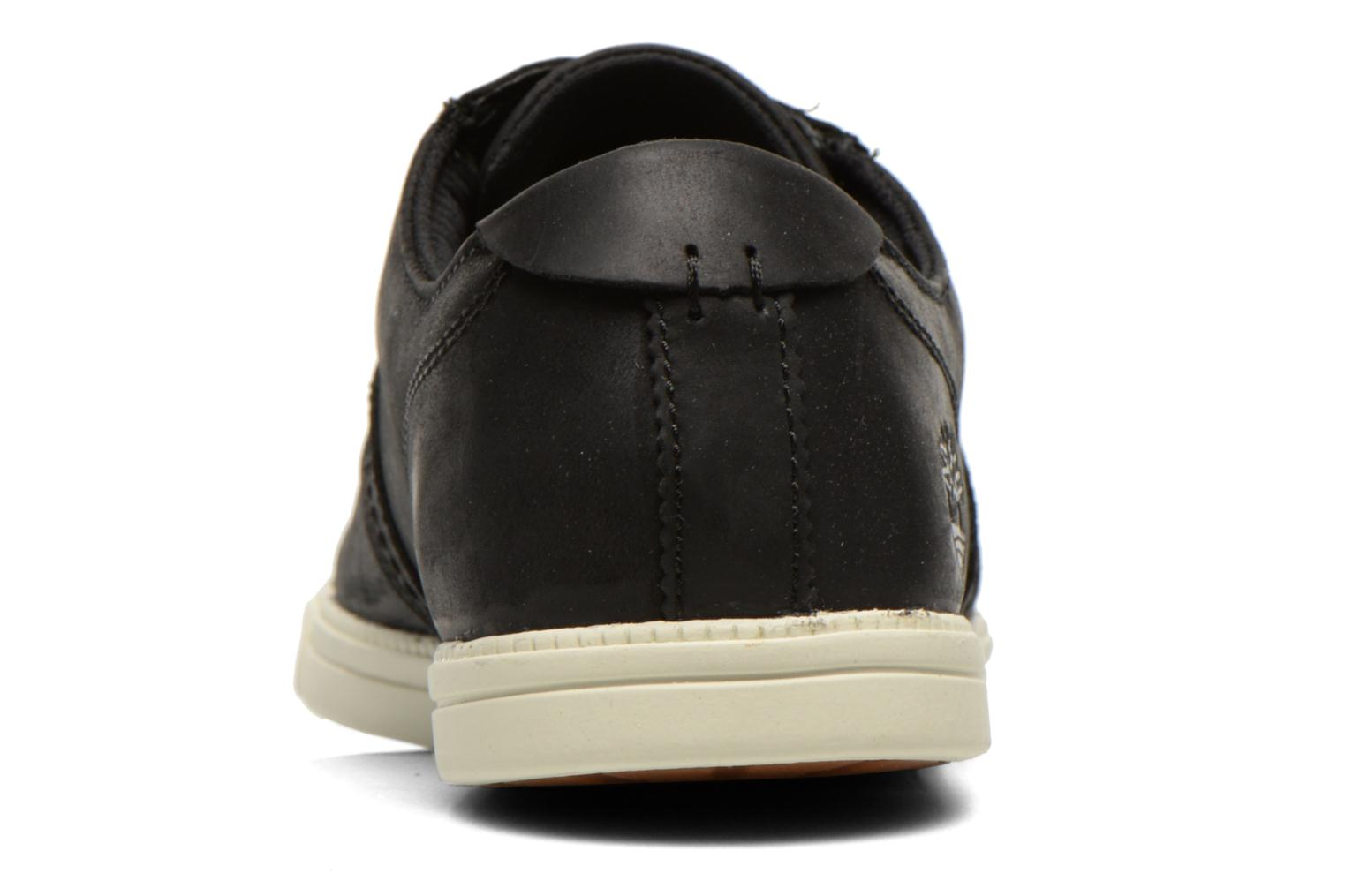 Chaussures à lacets Timberland Earthkeepers Newmarket LP Ox Noir vue droite