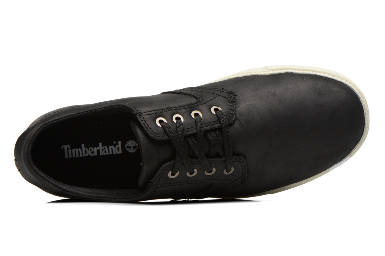 Chaussures à lacets Timberland Earthkeepers Newmarket LP Ox Noir vue gauche