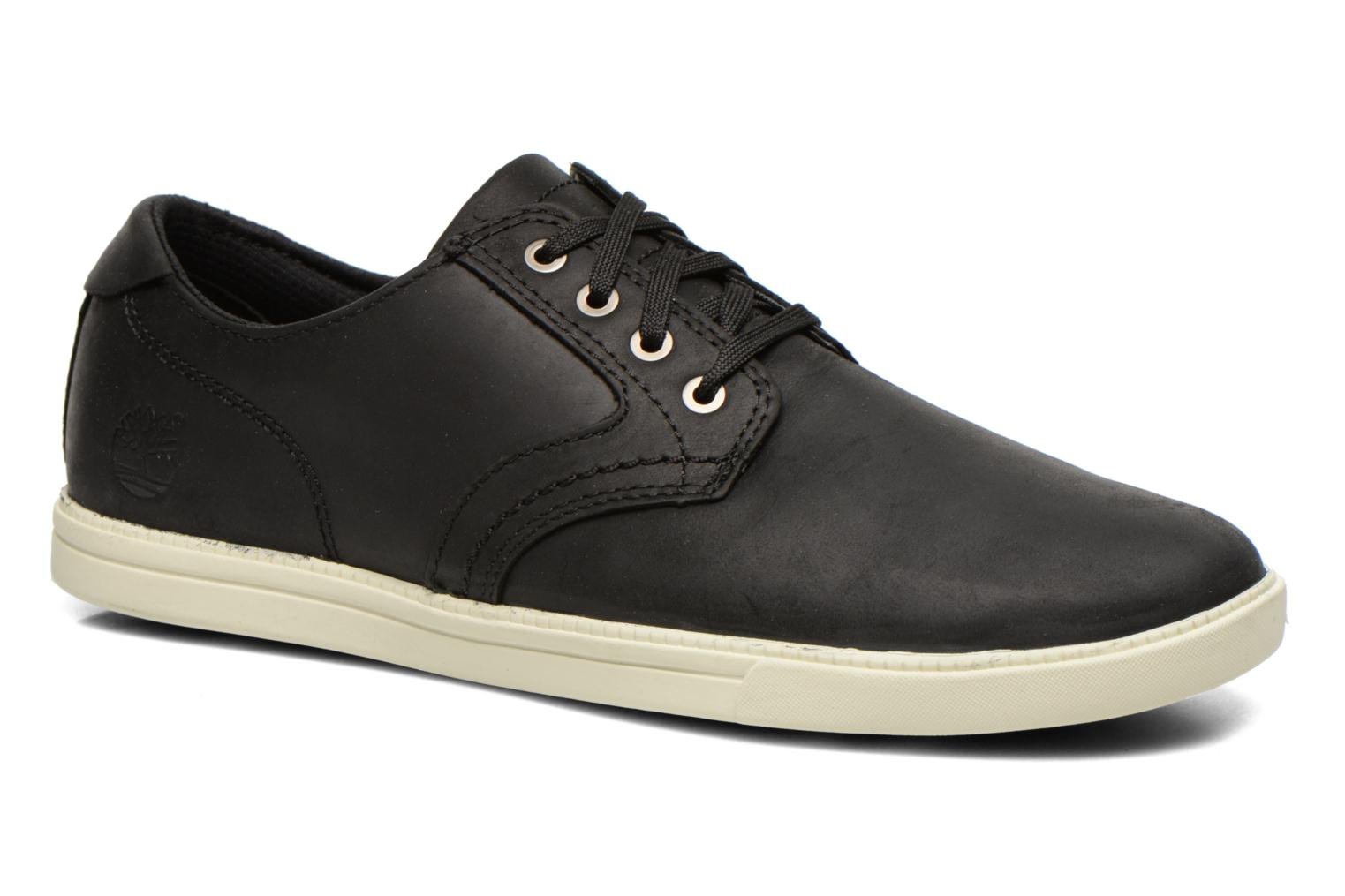 Chaussures à lacets Timberland Earthkeepers Newmarket LP Ox Noir vue détail/paire