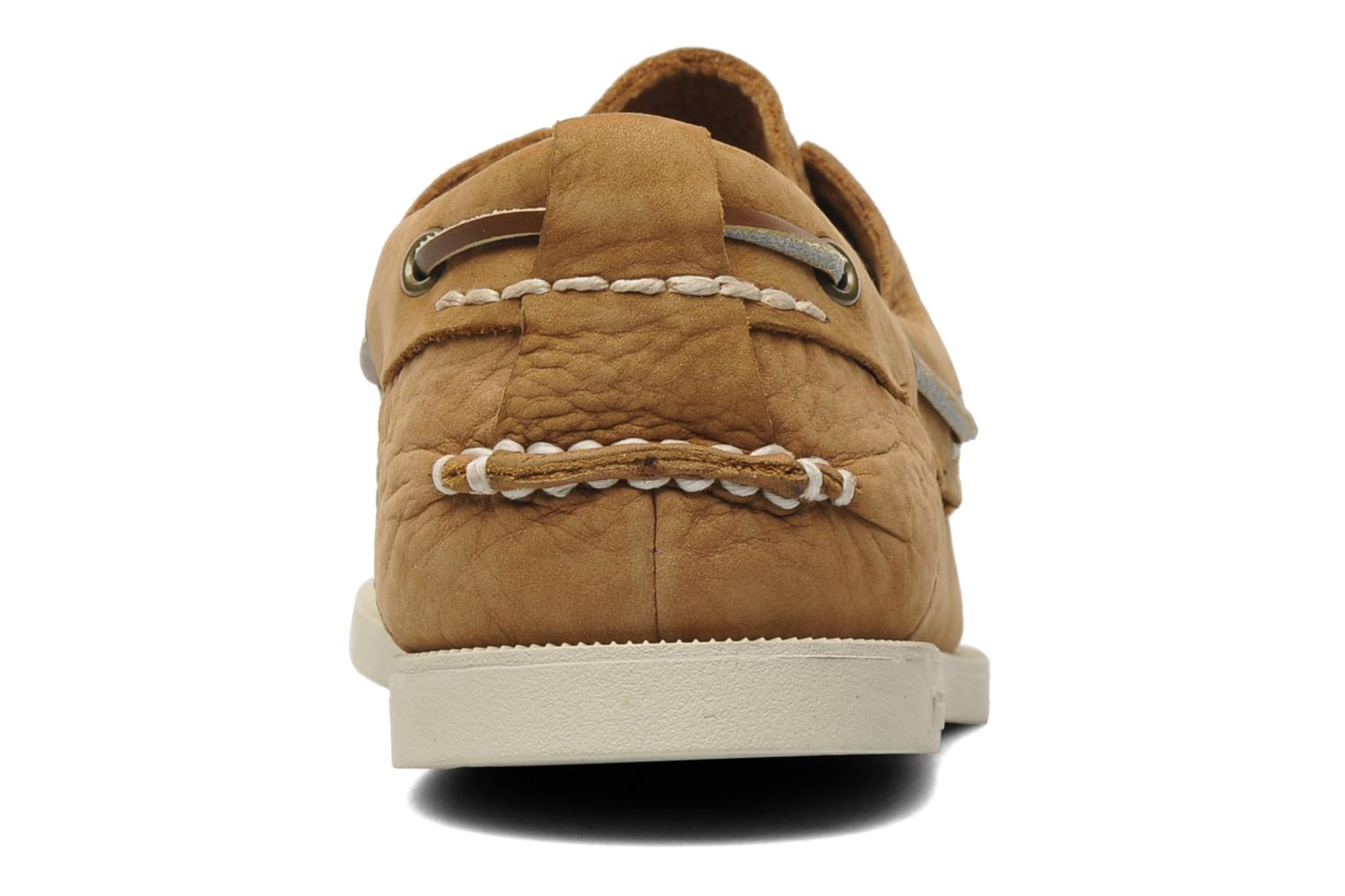 Chaussures à lacets Timberland Earthkeepers Heritage Boat 2 Eye Beige vue droite