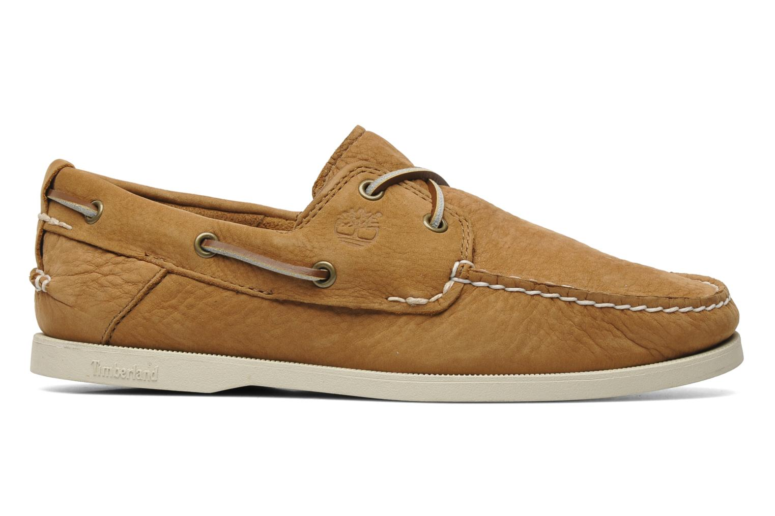 Chaussures à lacets Timberland Earthkeepers Heritage Boat 2 Eye Beige vue derrière