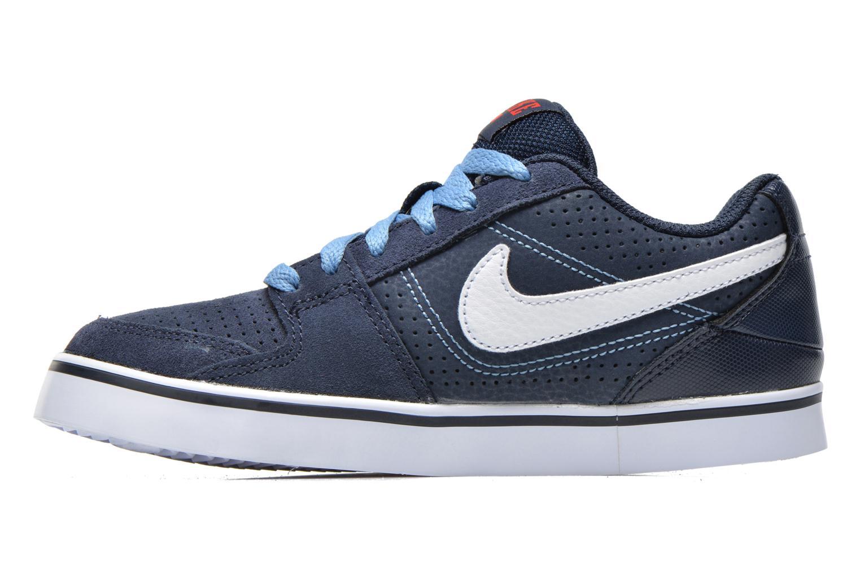 Baskets Nike Nike Ruckus Low Jr Bleu vue face