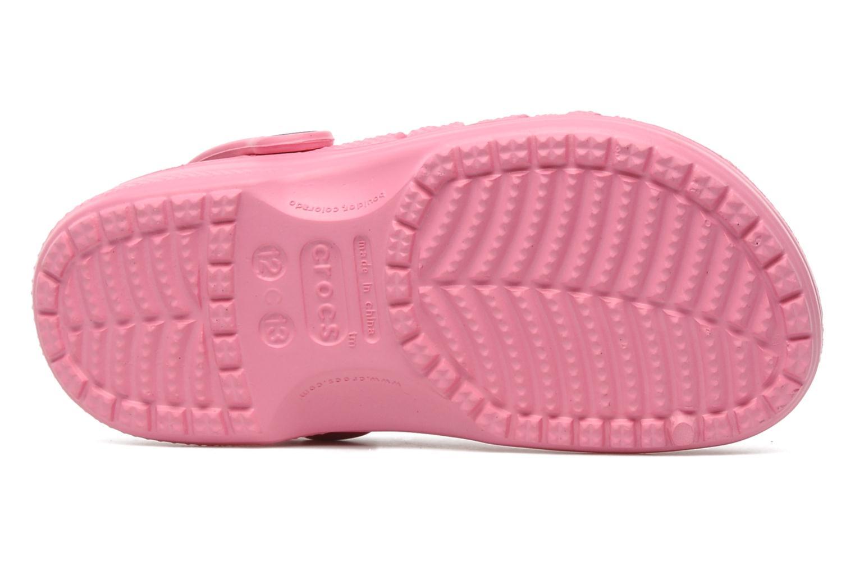 Sandales et nu-pieds Crocs Baya Kids Rose vue haut
