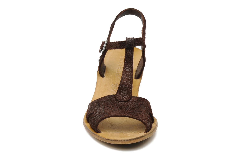Sandales et nu-pieds Neosens Rojal 462 Marron vue portées chaussures